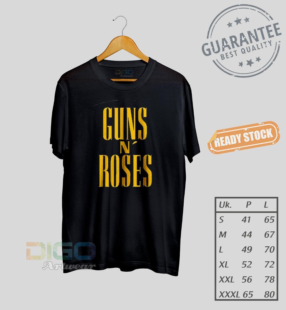 Rp 84.000. Kaos Gun N Roses Distro Keren Dan Cool Premium Quality Ready Size S M L Xl XxlIDR84000