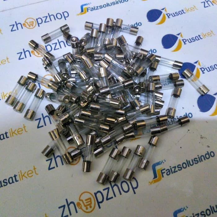 Skring kaca kecil 20mm sekring fuse 500ma-1A,-2A-3A-4A