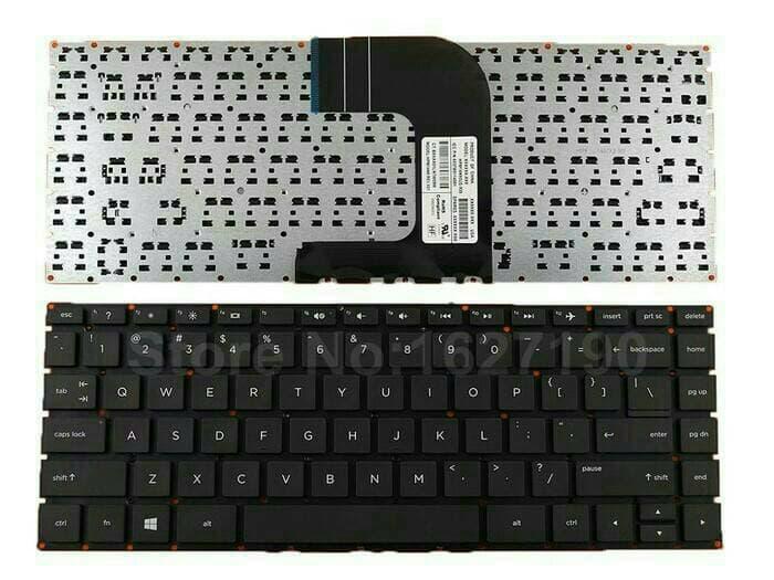 Hemat 10%!! Keyboard Laptop Hp 14 Hp14 / Hp Pavilion Hp 14-Ac137Tu Series/ Hp 240 - ready stock