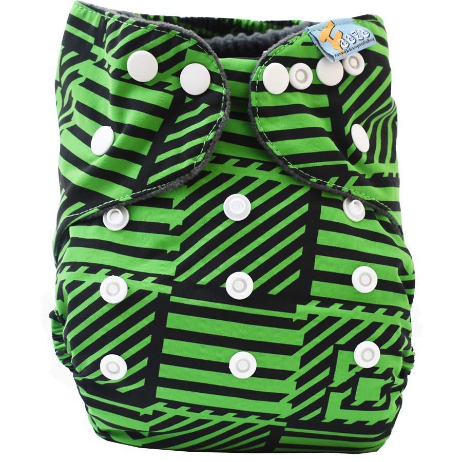 Faaza Store Clodi Bayi Super Premium 1 Cover With 2 Insert Popok Kain /Pampers/ Cloth Diaper Inner