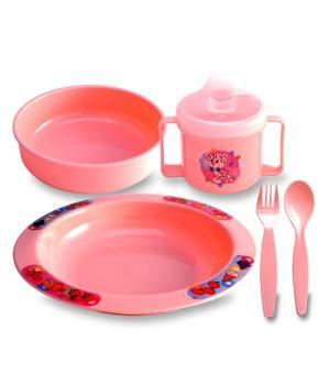 Harga preferensial Lusty Bunny Feeding Set / Perlengkapan Makan Bayi LB1336 beli sekarang - Hanya Rp21.518
