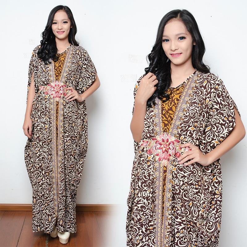 168 Collection Gamis Maxi Sanita Longdress Kaftan Jumbo Wanita