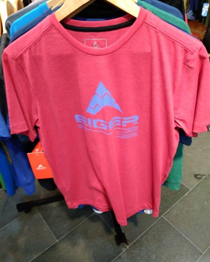 Best Top Seller!! Kaos Eiger Journey End T-Shirt Red Merah 910003954 Original - ready stock