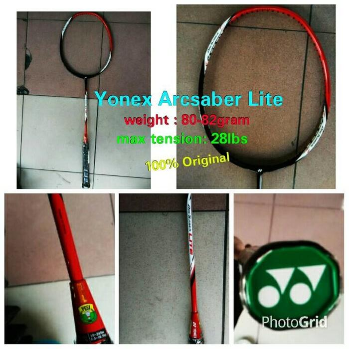 HOT PROMO!!! Raket Badminton Yonex Arc Saber Lite ! 100% ori yonex Sunrise - jO1TTZ