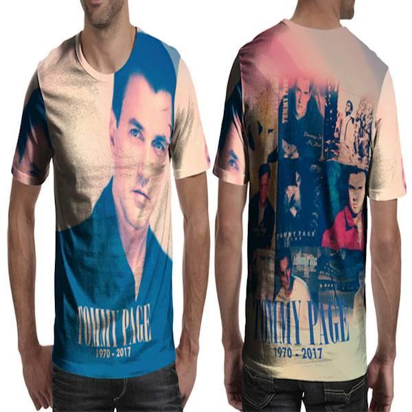 Kaos T-Shirt Lengan Pendek Full Print Custom Tommy Page Art 8