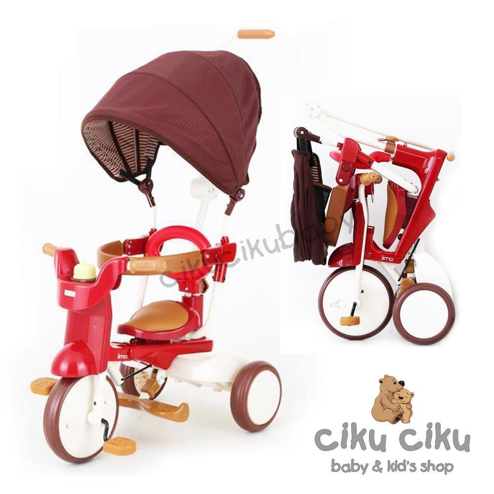 Sepeda Iimo Folding Bike #2 Tricycle SS Type Sepeda Anak