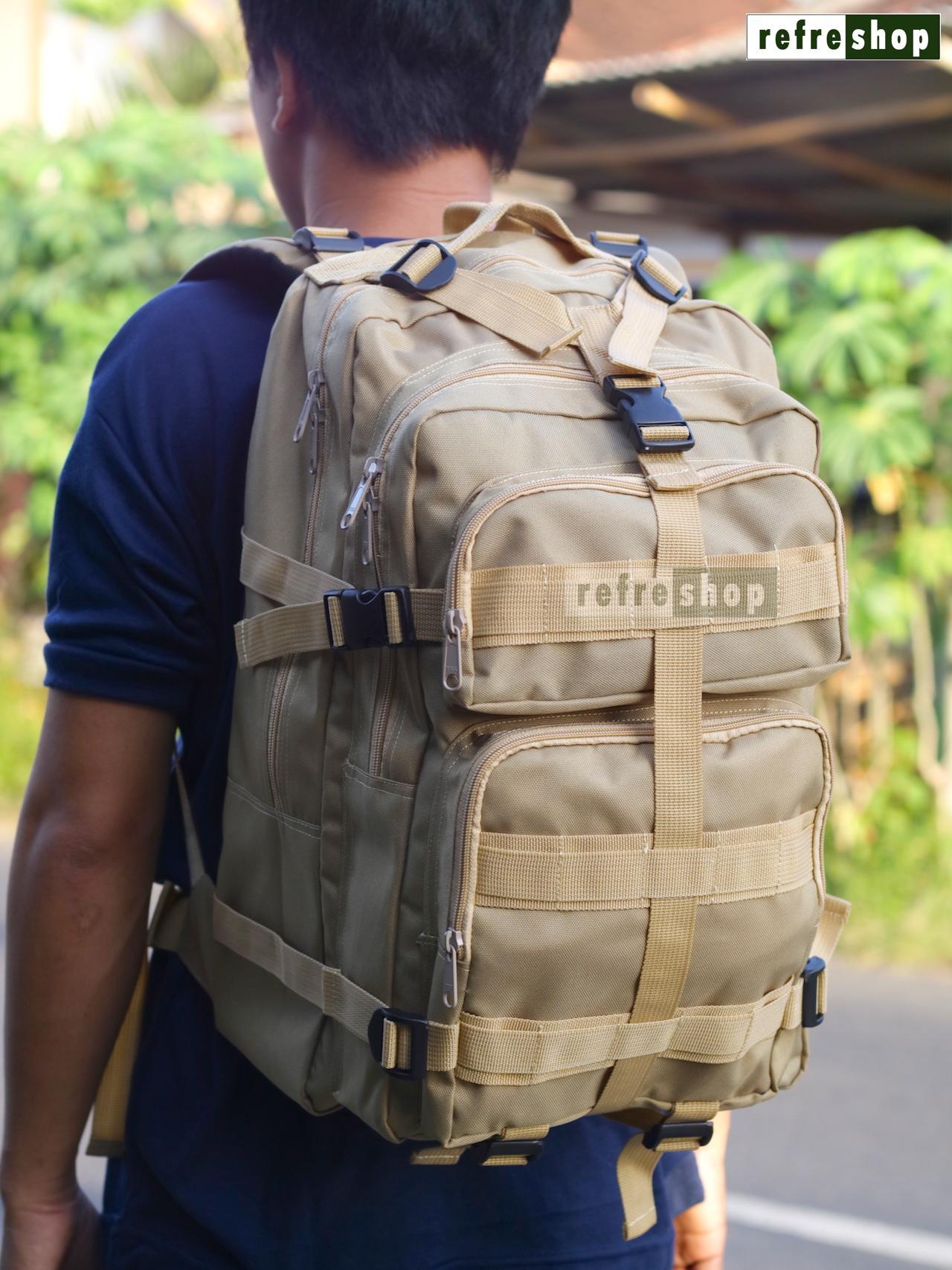 Tas Ransel Tactical Army Punggung Militer PX423 Cordura Berkualitas