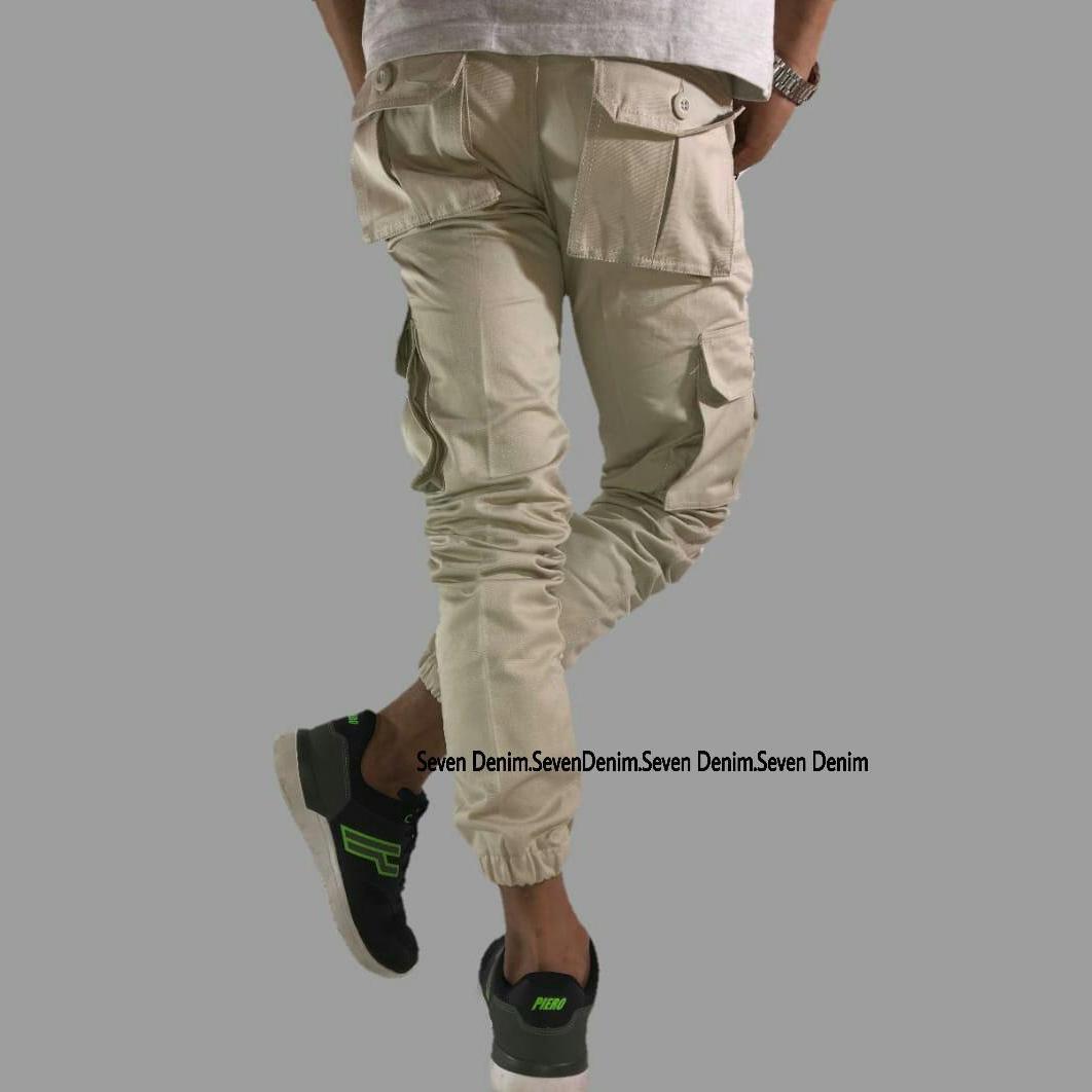 Celana Pants Cargo Pria Creem Daftar Harga Termurah Terkini Dan Casual Kanvas Abu Cln 1027 Panjang Jogger Kargo