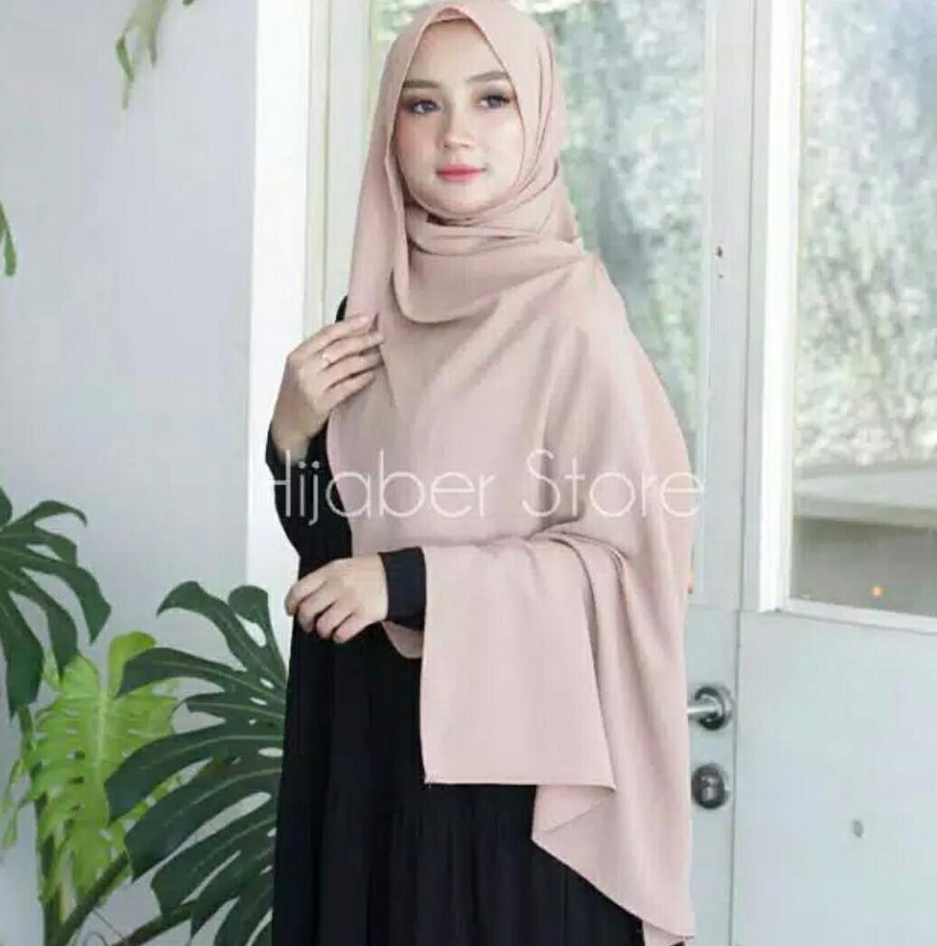 Buy Sell Cheapest Hijab Pashmina Sabyan Best Quality Product Deals Nissa Nwe Kerudung Instan