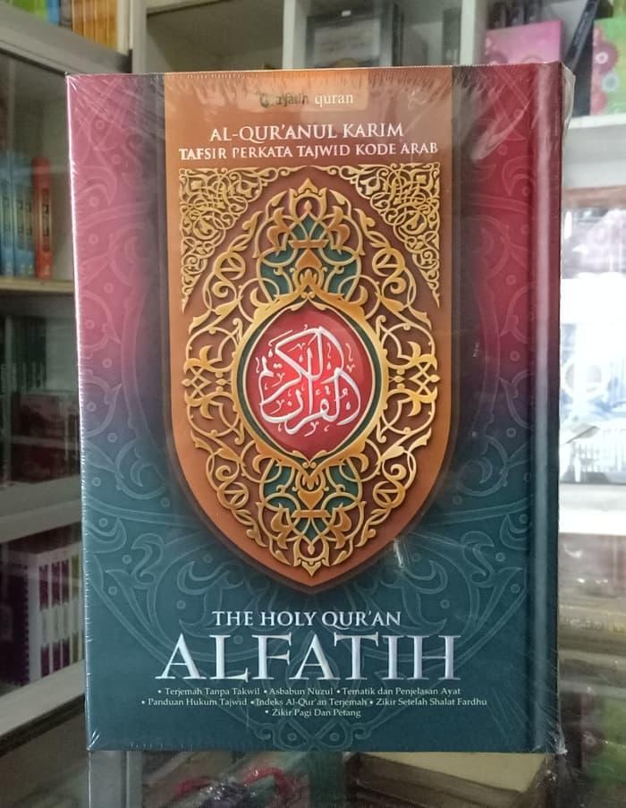 AMANDA'- Alquran Al Fatih (A5), Al-Quran Tajwid Terjemah Per Kata Alfatih