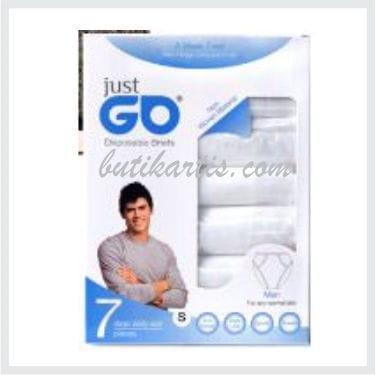 TERLARIS !! Celana dalam Disposable just go (Cowok)