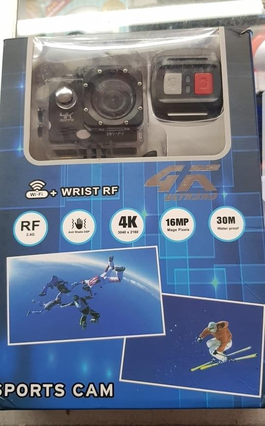 Actioncam 4K ultra HD 16MP DVR wifi gopro xiaomiyi kogan bpro sony ABM