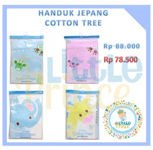 Handuk Jepang Cotton Tree