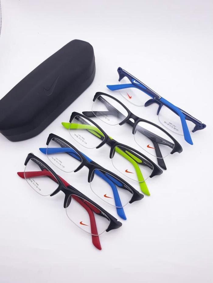frame kacamata model bulat bisa untuk minus plus cylinder progresif