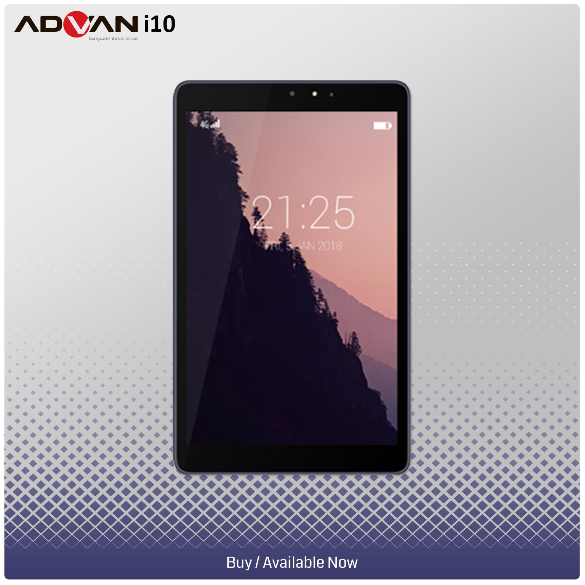 Jual Tablet Advan Terbaru Vandroid S5j 8gb I10 10 Inch 4g Lte 2gb Ram 6000mah