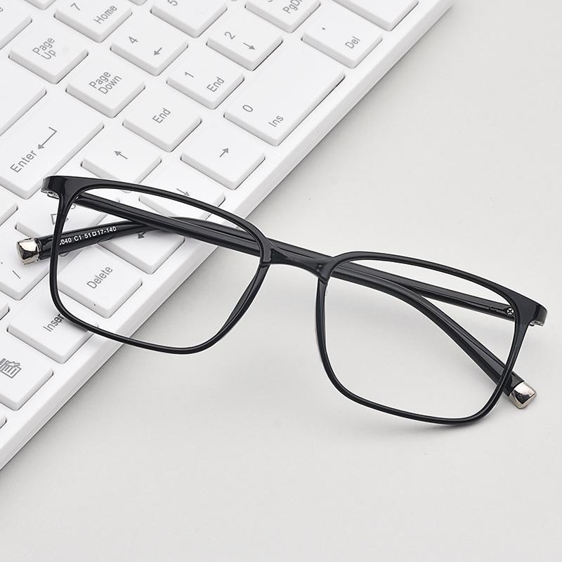 Bingkai Kacamata Ultra-Ringan Kaca Mata Netral Retro Kacamata Minus