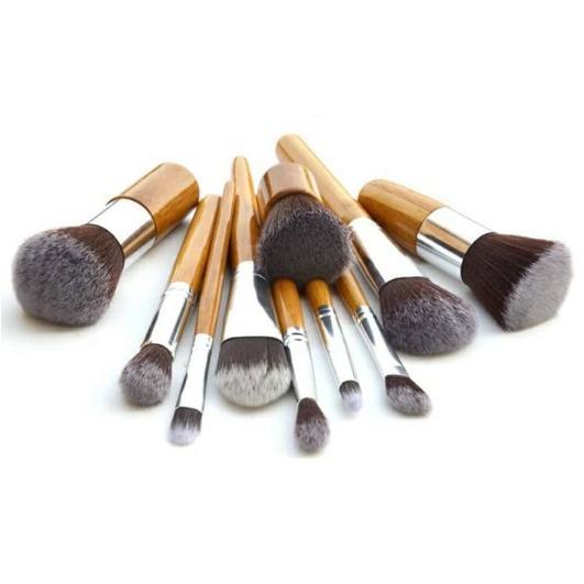 Anda 7 Buah Alat Makeup Kosmetik Bedak Tabur Bulu Mata Untuk Menyamarkan .