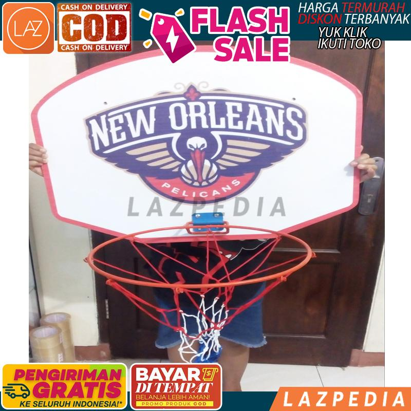 Cod - Ring Papan Basket Besar / Ring Papan Basket Berkualitas / Ring Basket - Lazpedia A868 By Lazpedia.