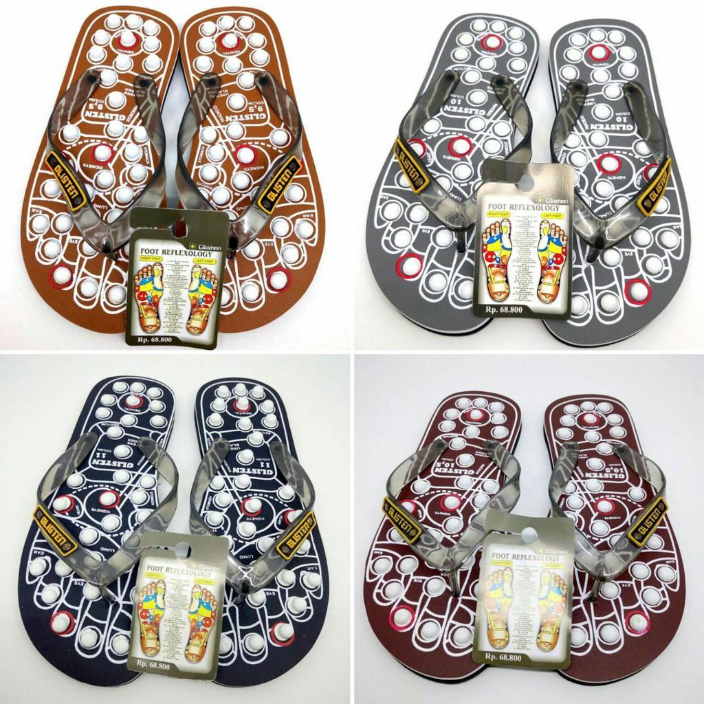 Sandal Kesehatan/Rematik/Refleksi Glisten swiss