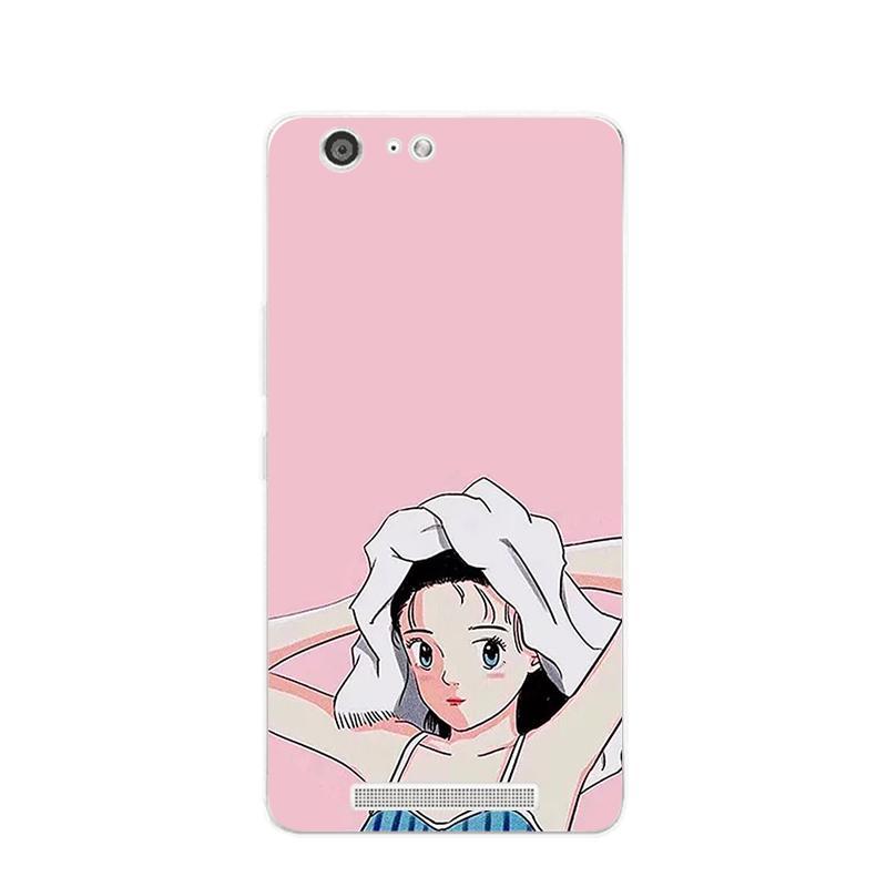 Gionee Casing HP S9 Casing M5 Imut Gadis Shampoo Kucing