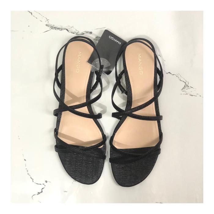 Sandal Sepatu Mango Original Not Stradivarius Hnm Gap Havaianas Fossil