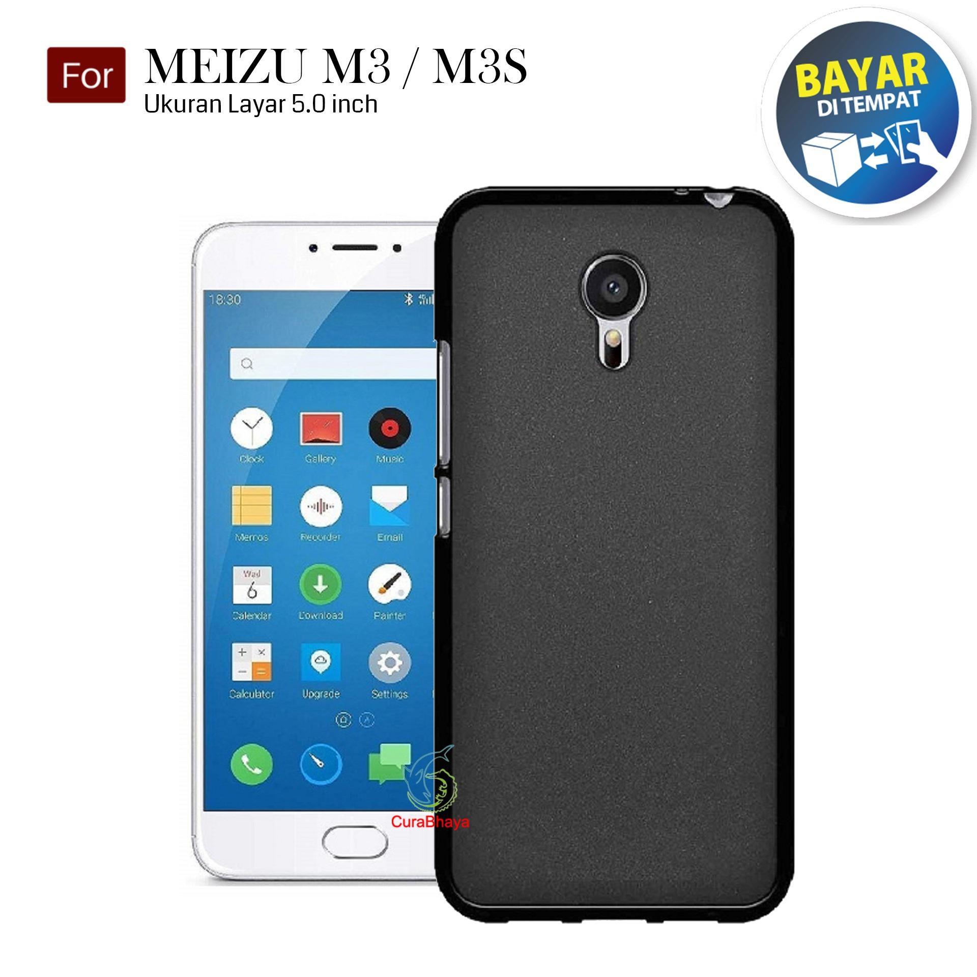 MidNight Meizu M3 / M3s / Mini | Slim Case Black Matte Softcase Premium Baby Skin
