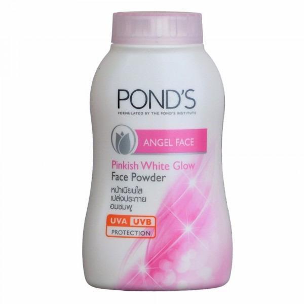 Ponds Pinkish Angel Face Magic Powder 100% Original Thailand - Bedak Tabur Glowing - FREE MASKER MATA
