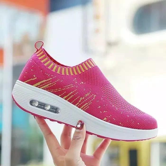 Ezell shop sepatu kets slip on venom baru murah