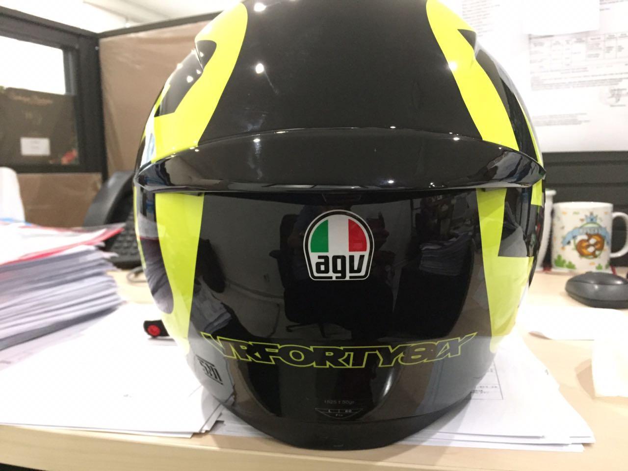 Jual Helm Agv Terbaik Carbon Doff Rossi Moto Gp
