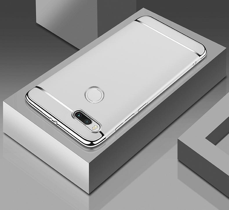 XiaoMi A1 Mewah Menyepuh Dgn Listrik Shockproof Kembali Casing Kover untuk XiaoMi Serta A1 Case Keras