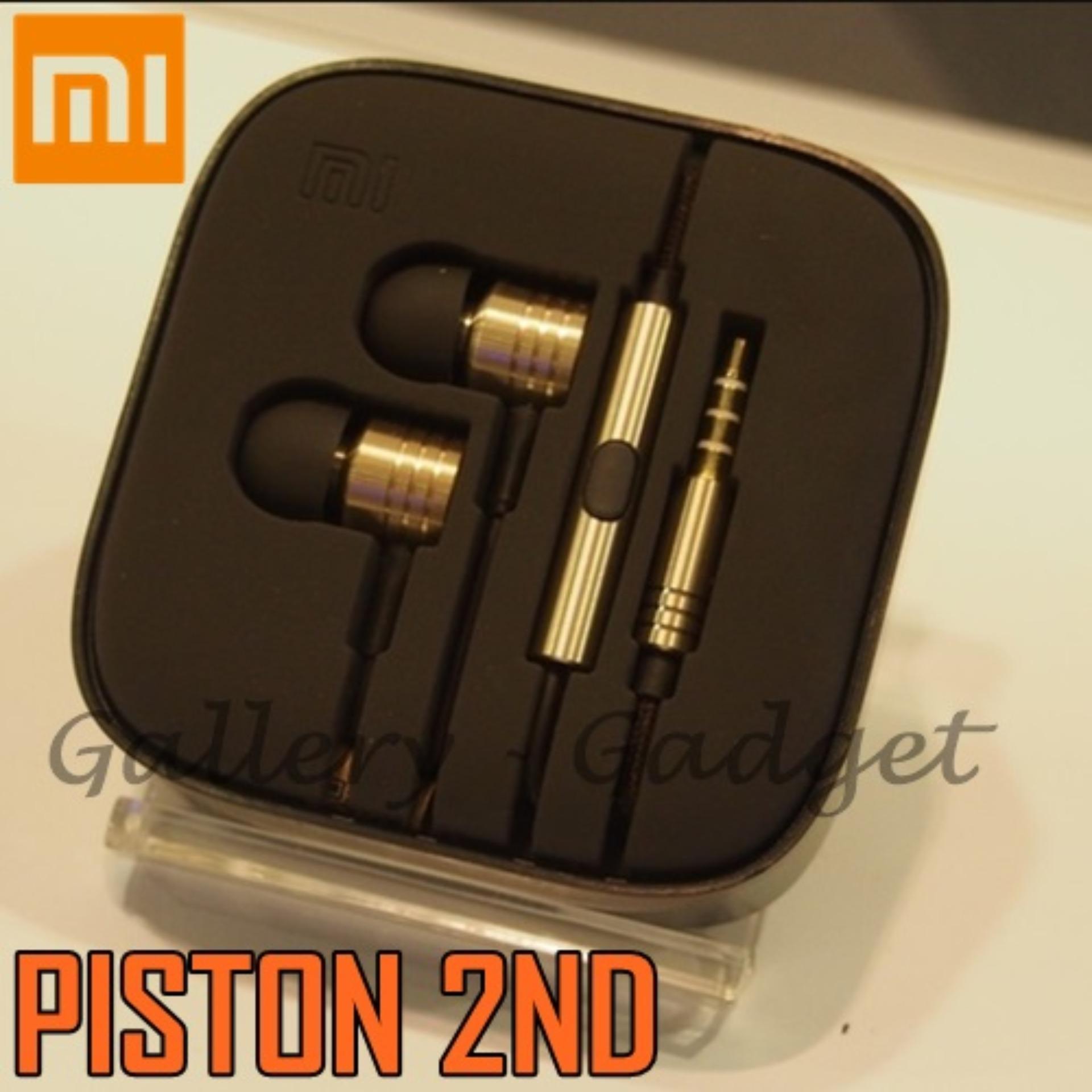 Jual Headphones Headsets Xiaomi Mi Piston Huosai 2 Earphone Colorful Edition Original 2nd Generation Handsfree Gold