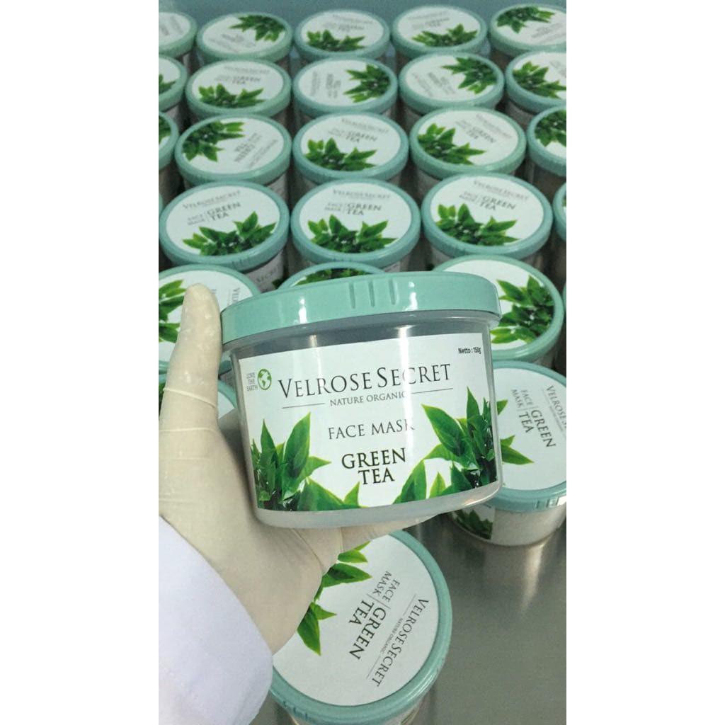 Buy Sell Cheapest Lulur Wajah Nature Best Quality Product Deals Organic Bengkoang Milk Bpom Velrose Secret Green Tea