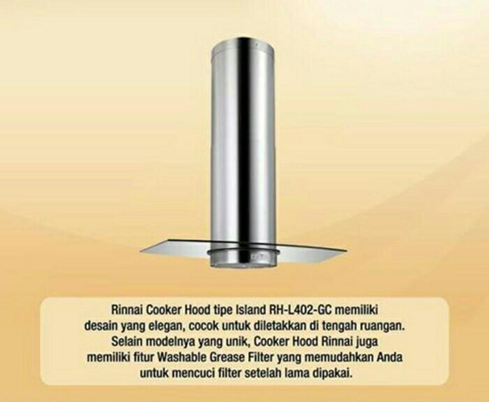 Special Promo Rinnai Cooker Hood Rh 60er Grey Garansidaya Hisap Ch 90 Cm Filter Udara Angin Asap Dapur Wall Tudung Penghisap Garansi Island L402 Gc Resmi