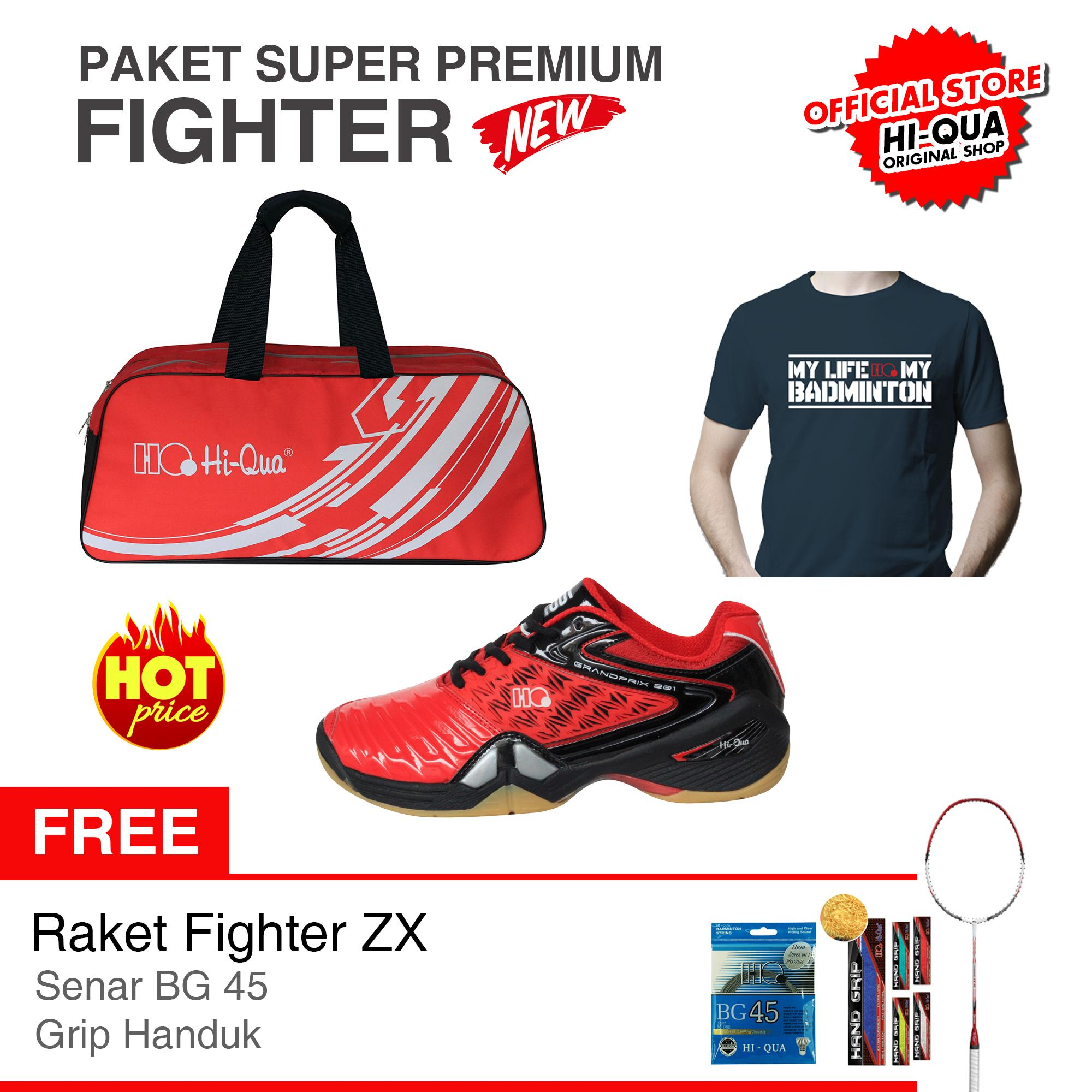 New and Fresh !! PAKET SUPER PREMIUM FIGHTER Hi-Qua !
