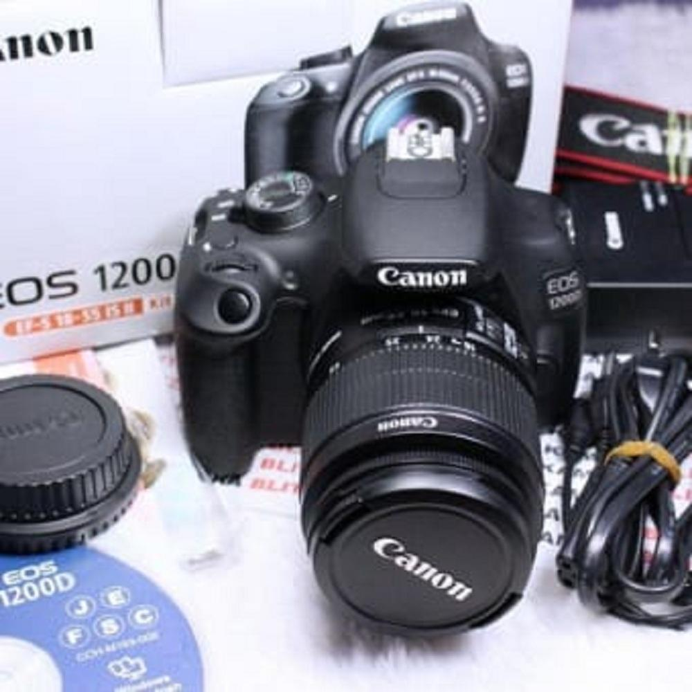 Canon EOS 1200D Digital SLR Camera with EF-S 18-55mm f/3.5-5.6 III Lens - International Version (No Warranty) - intl