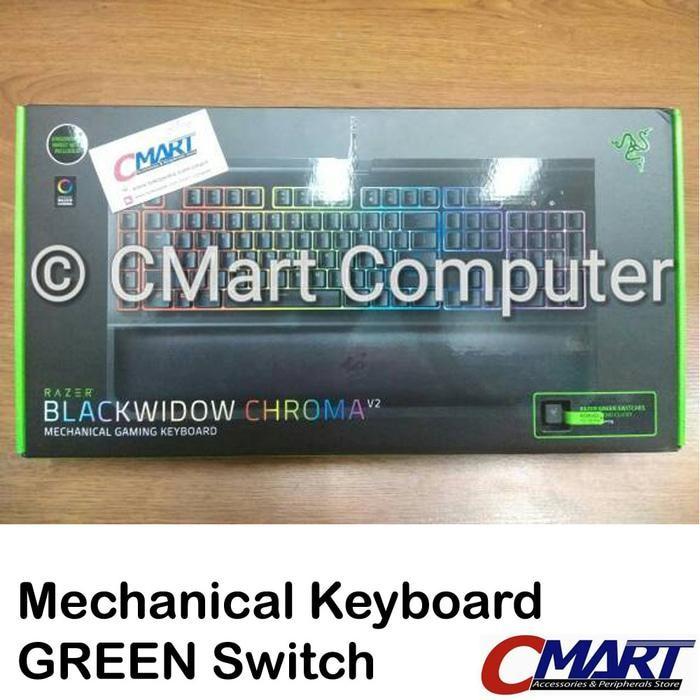 Razer BlackWidow Chroma V2 Mechanical Gaming Keyboard - RZ03-02030100