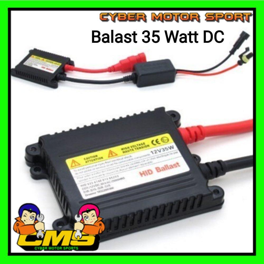 Balast HID 35watt DC 12 volt. balast untuk lampu HID. balast hid mobil dan motor universal