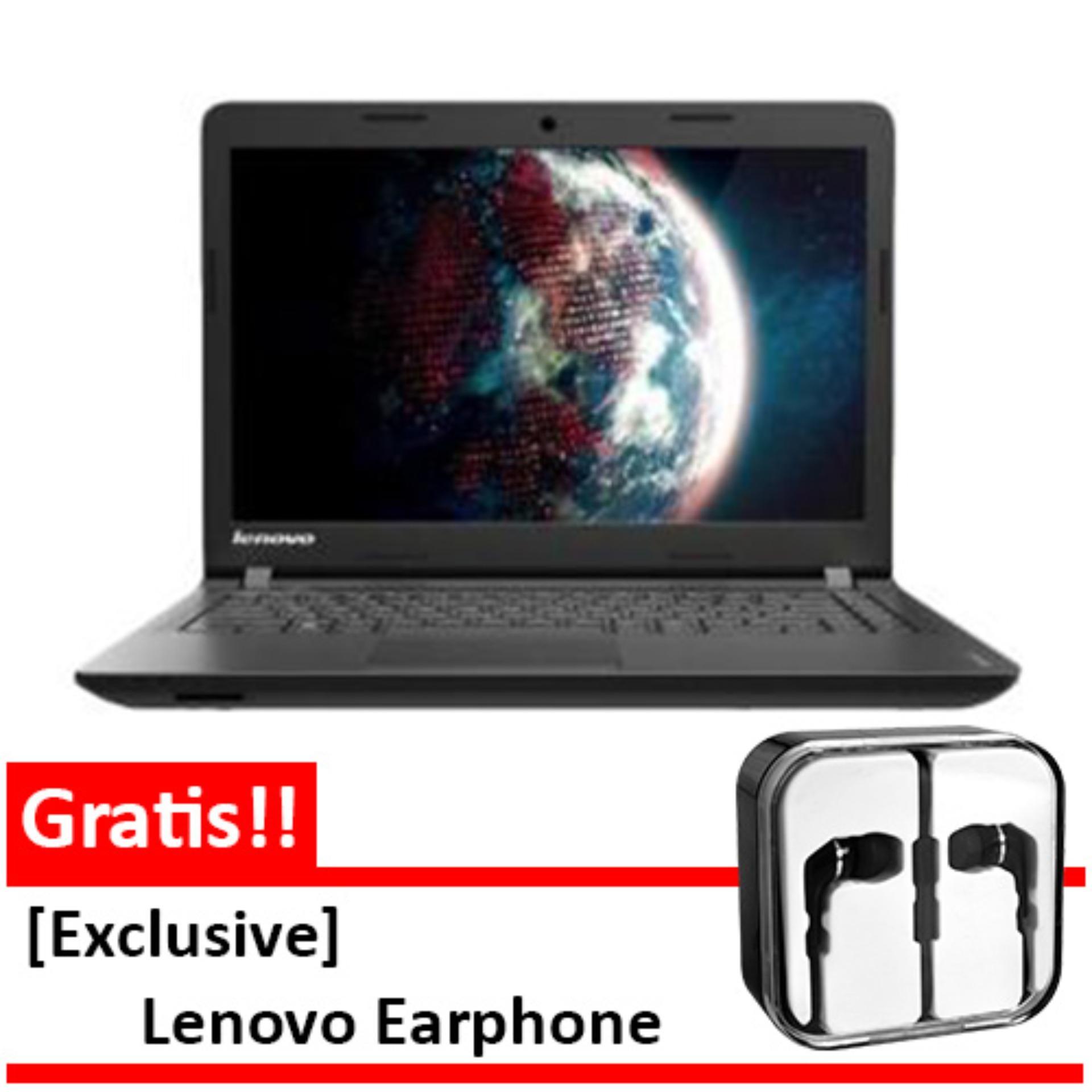 Lenovo Ideapad 110-14IBR-AKID BLACK N3060-4GB DDR4-1TB-Windows10-1YR