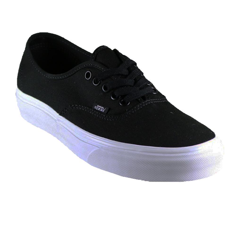Zacksho Sepatu Casual Vans Authentic Mono Sneakers Pria dan Wanita Unisex