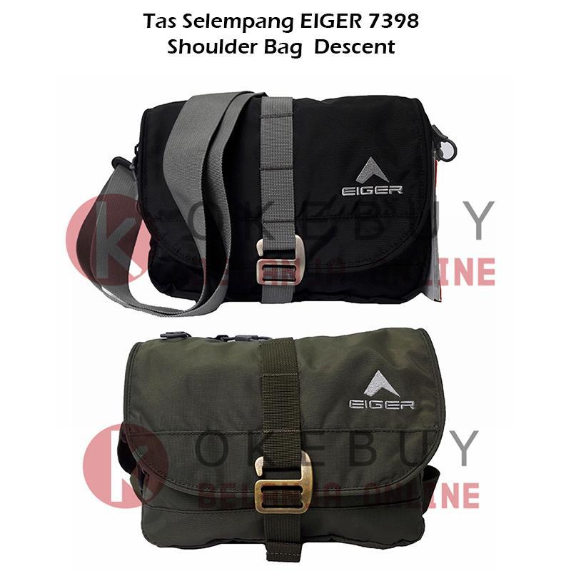 Eiger Tas Selempang Pria / Wanita 7398 Travel Pouch Hzl Comp Descent Shoulder Bags