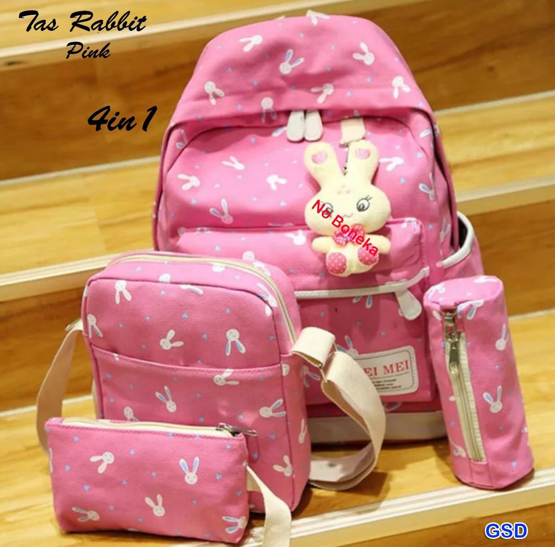Lestari Fashion Tas Sekolah Anak Wanita Inficlo Sru 719 Spec Dan Backpack Scp 727 Ncr Perempuan Murah Ransel Gendong