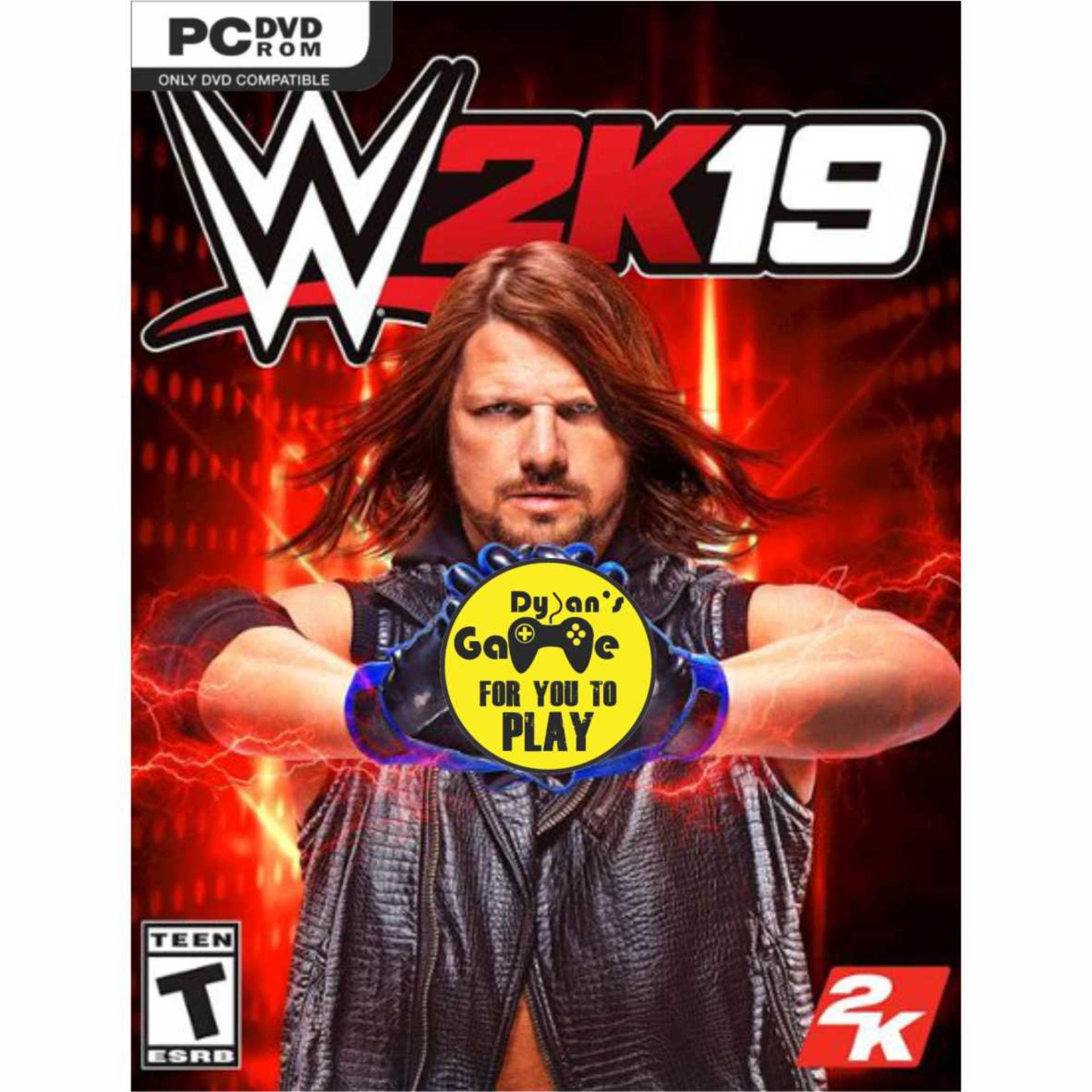 WWE 2K19 Game PC, DVD Game PC