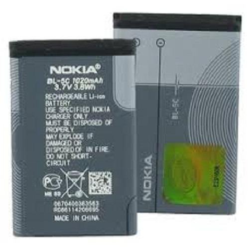 Nokia Baterai BL- 5C Baterai Original 100% For Nokia 1100 / 3100 / 7610