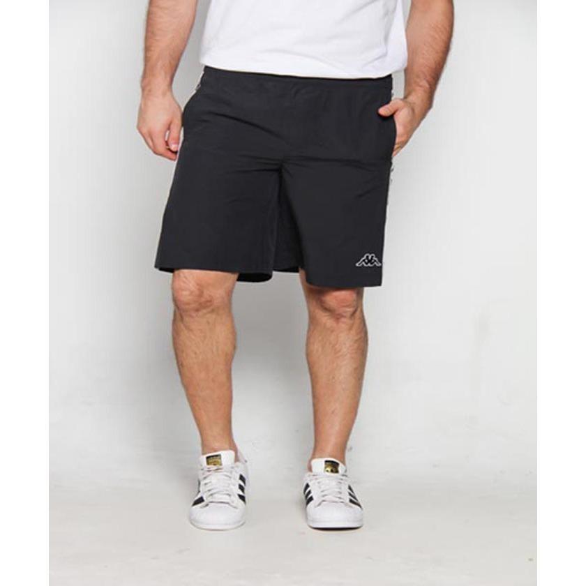Kappa Side Banda Short Pant - Black