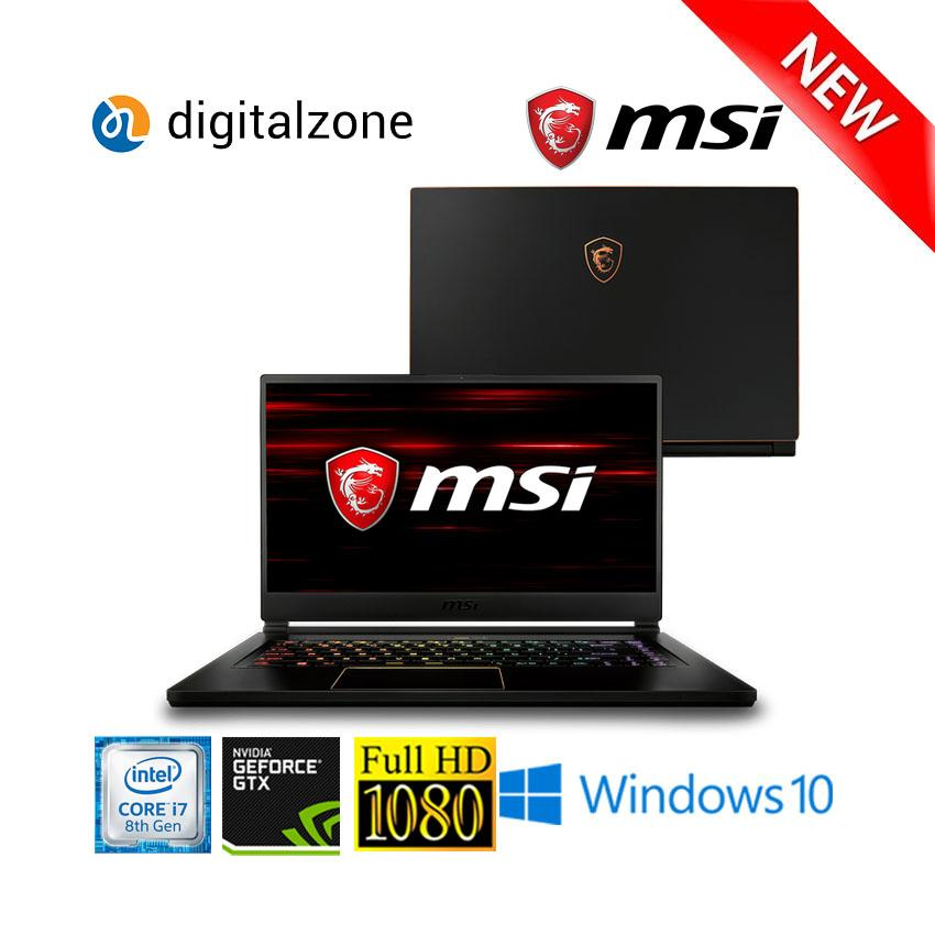 MSI GS65 Stealth - Intel Core I7 8750H - 16GB RAM - 256GB SSD - GTX1060 - WIN10 - 144Hz