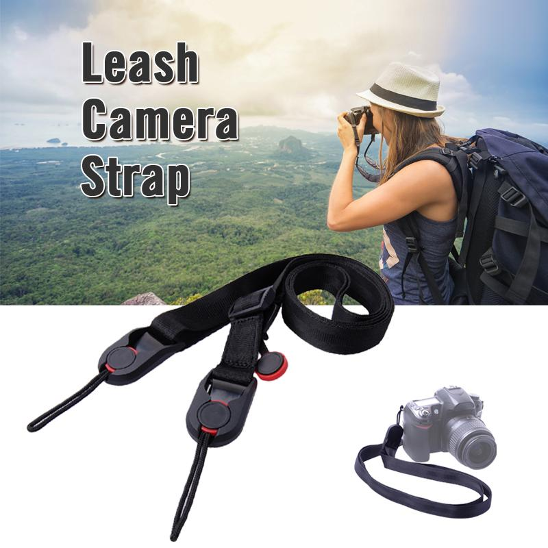 Leash Camera Strap Sling for Gopro Canon Nikon Sony Olympus Pentax DSLR LF491