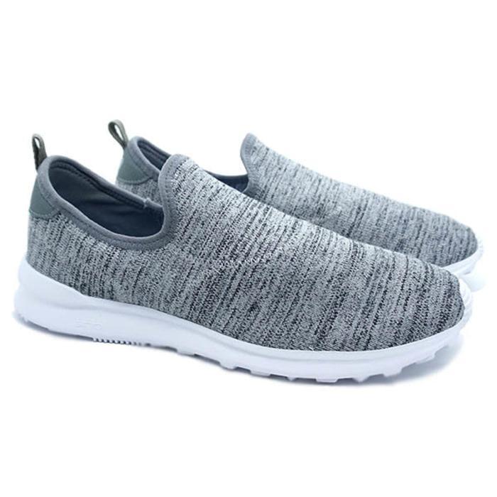 Sepatu Piero Ventura Knit - Grey White (New 2018)