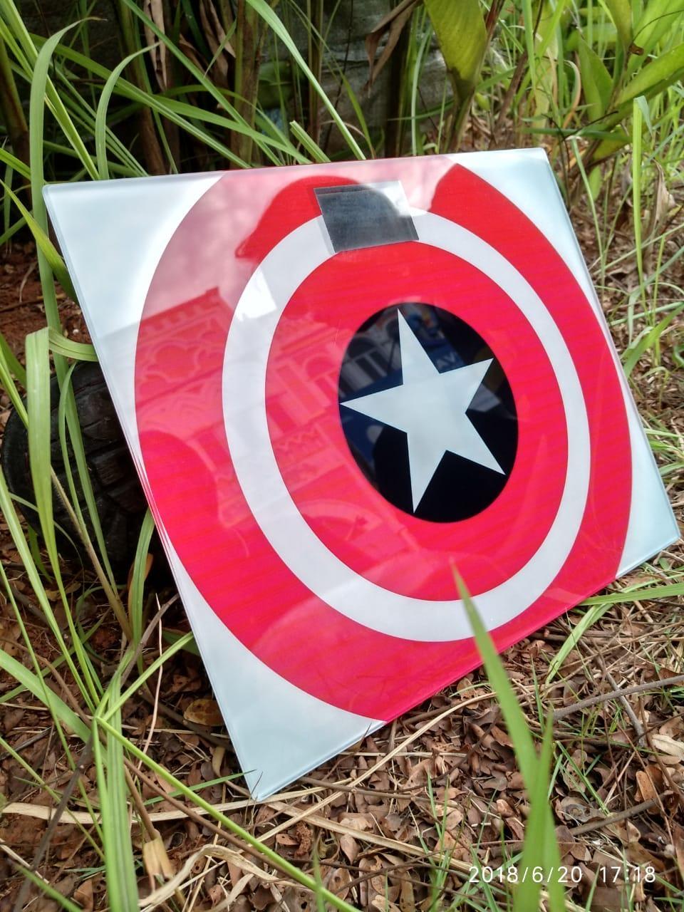 Beli Scale Timbangan Badan Digital Store Marwanto606 26cm Personal Weight 150 Kg Motif Captain America