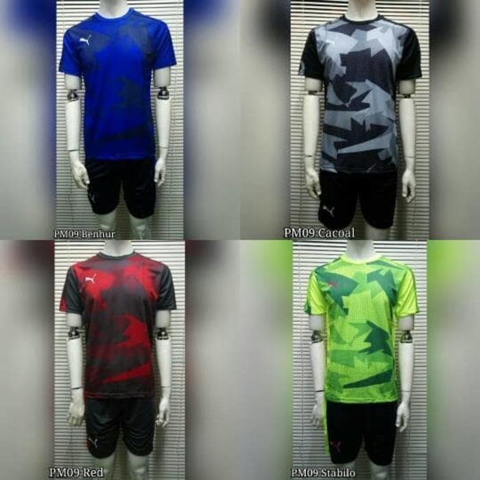 Baju Setelan Futsal / Sepakbola Puma PM09