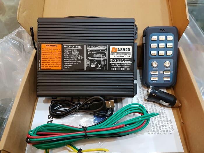 modul sirine 200watt | ( klakson motor mobil keong denso suara waterproof telolet hella polisi sepeda fer ) |